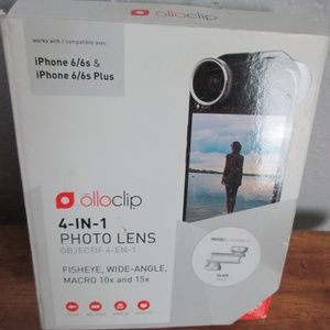 Iphone 6 4 in 1 Photo Lens